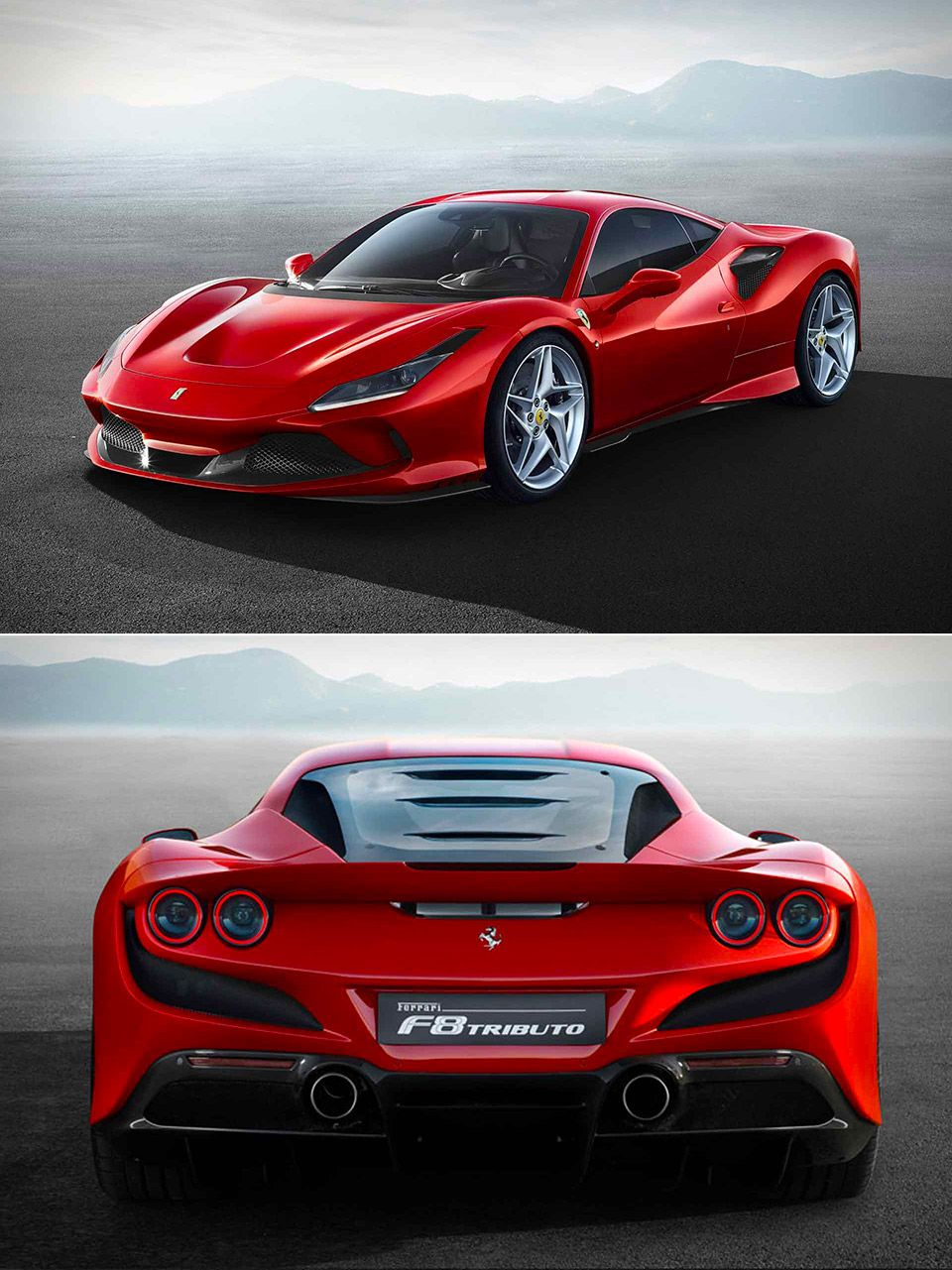 This Is The Successor To Ferrari S 488 Gtb Ferrari Super Luxury Cars Super Cars