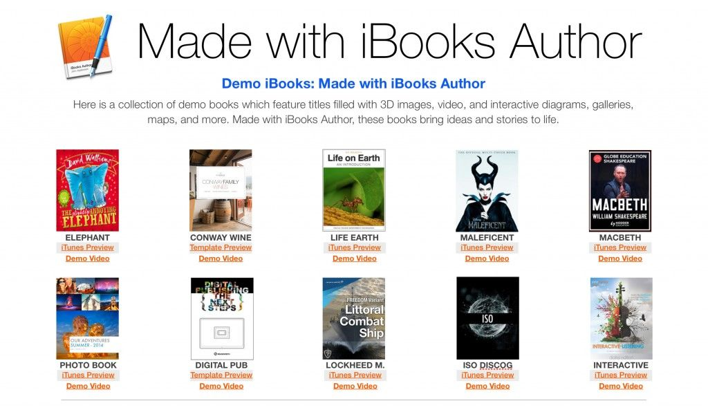 8 Amazing Examples of iBooks Author in Action | Made with iBooks ...