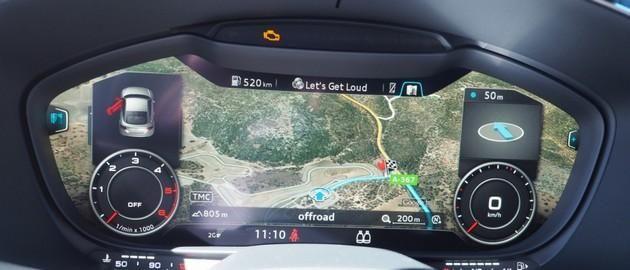 Tak prezentuje się wirtualny kokpit Audi