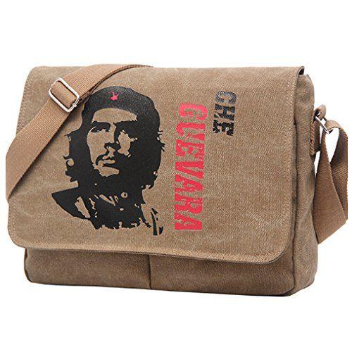 69d39d3253ee Eco-Friendly Canvas Che Guevara Sling Bag Messenger Bag Male Shoulder  Crossbody Bags