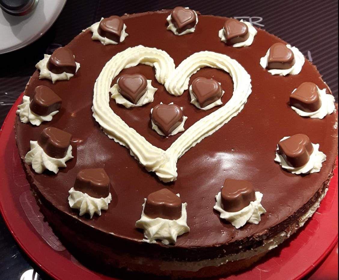 Milka-Herzen-Torte | Rezept | Kuchen, Torten & Kleingebck ...