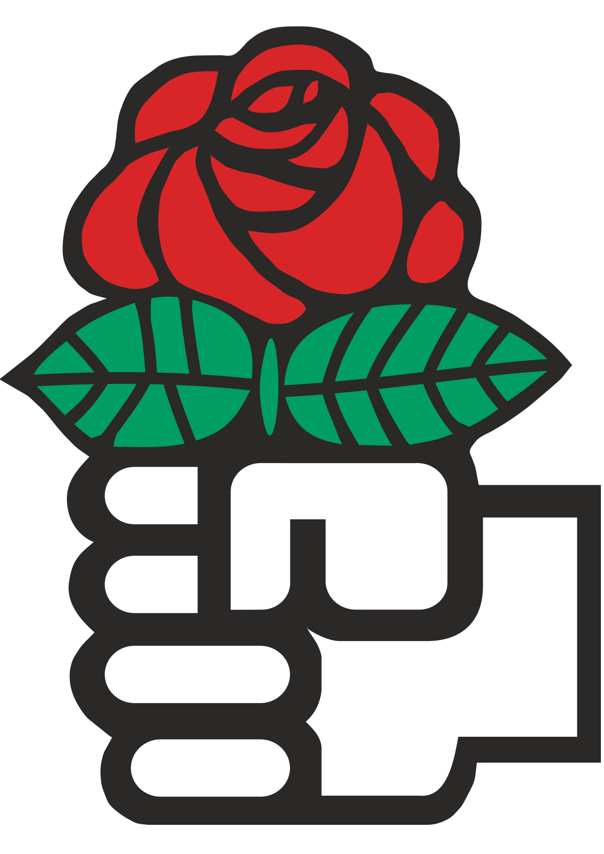 Socialist international wikipedia philosophy theory culture red rose logo of the socialist international an international organization of social democratic parties biocorpaavc Image collections