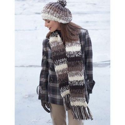 Free Easy Women's Hat Knit Pattern | Knitted hats, Scarf ...
