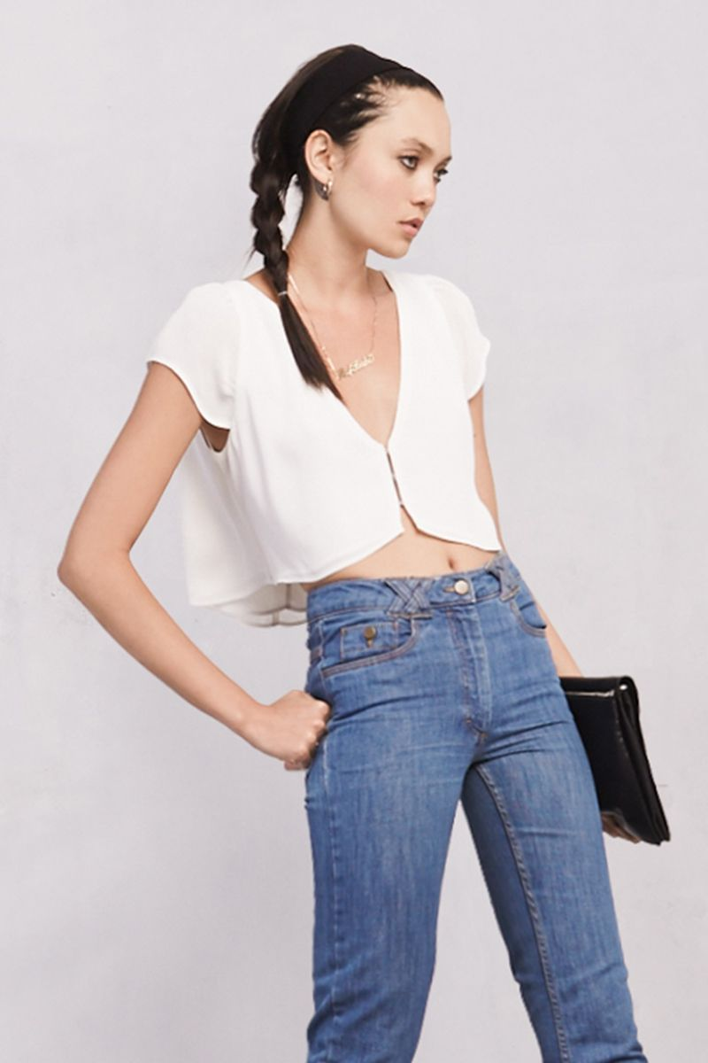 The Lilou Top  http://thereformation.com/products/lilou-top