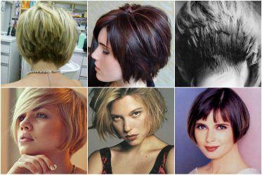 Модная стрижка волос боб и боб каре в 2018 году: на ...