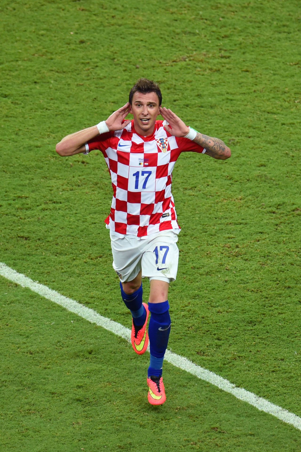 Mario Mandzukic of Croatia NT