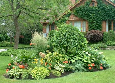 Easy rock garden designs landscaping checklist the for Easy perennial garden plan