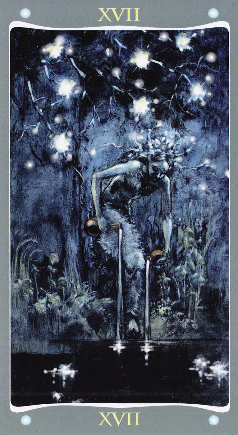 The Star - Fairy Lights Tarot | Tarot Art - The Star ...