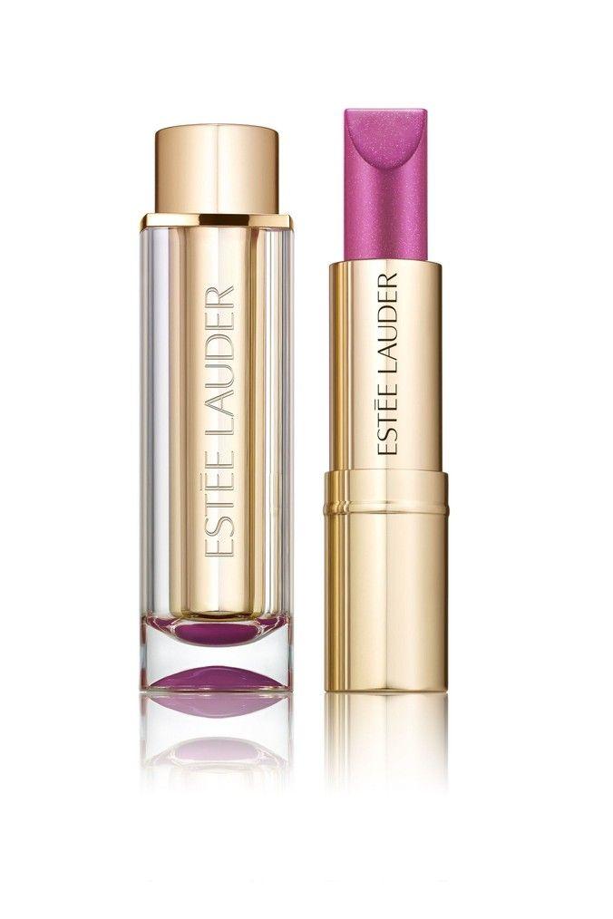 Photo of Womens Estée Lauder Pure Colour Love Cooled Chrome Lipstick –  Purple