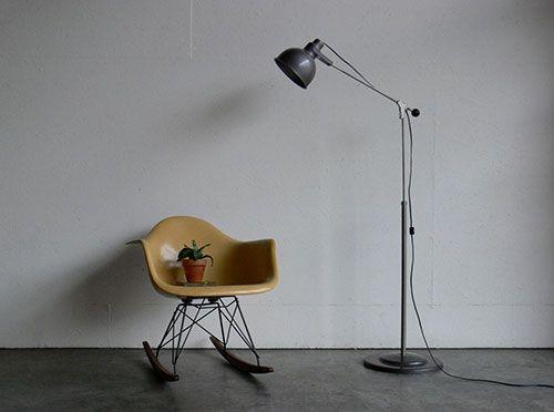 Industriële staande lamp ideeën voor het huis