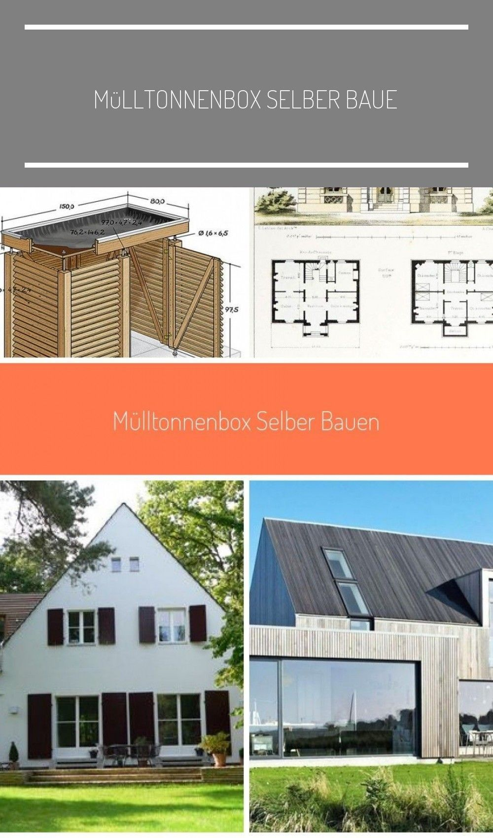 Mülltonnenbox selber baue - #baue #Mülltonnenbox #selber # ...
