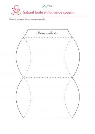 bo te cadeau imprimer boite cadeau gabarit et boite. Black Bedroom Furniture Sets. Home Design Ideas