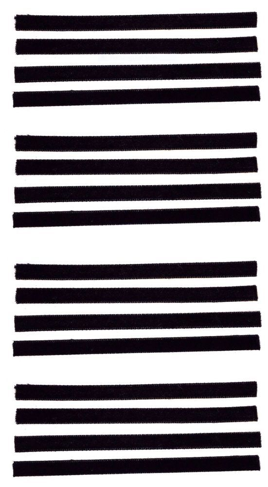 Record Cleaning Strips 16-Pack Replacement Strip set for VPI/Okki Nokki Machines #VPI3M