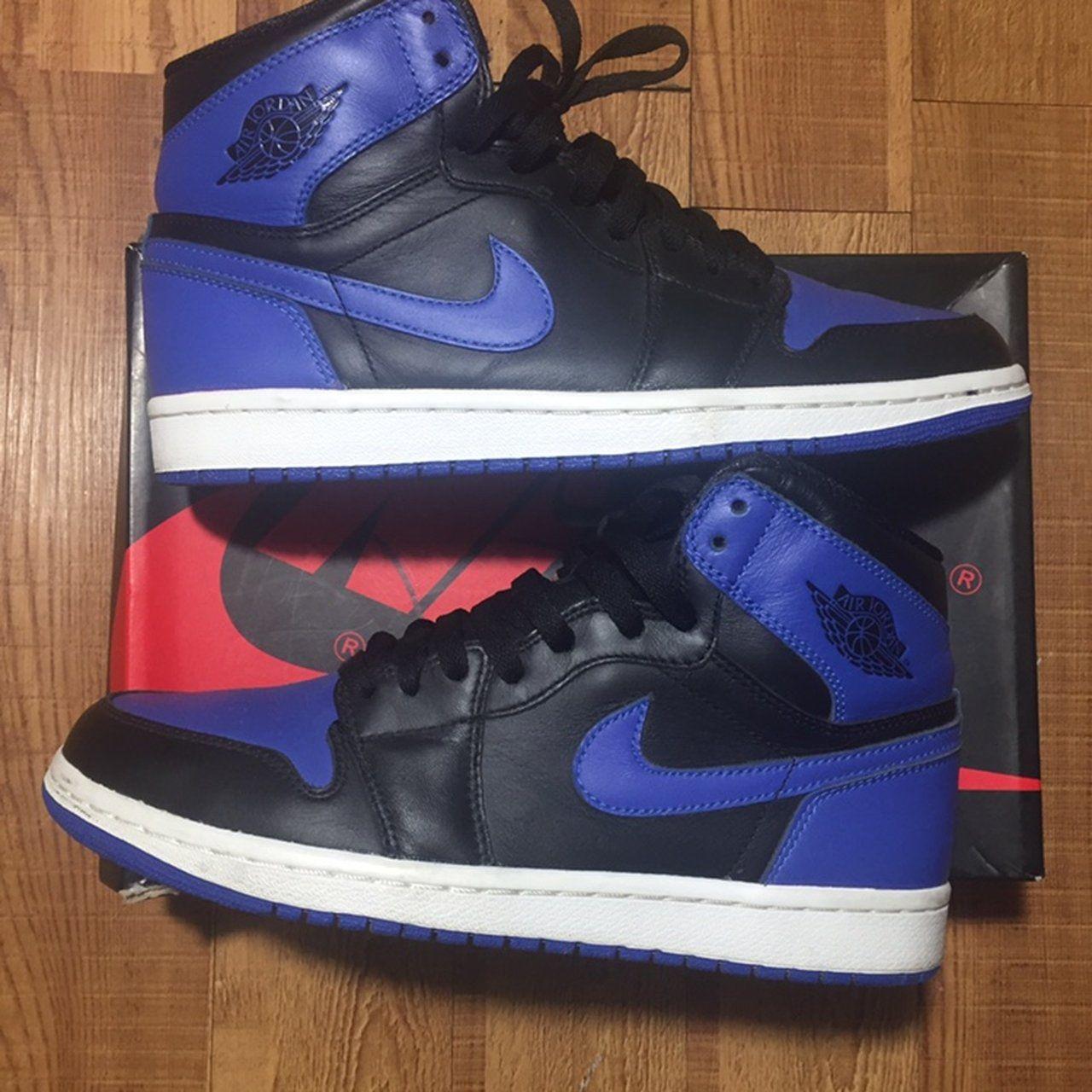 a700fd9fe95 2013 Air Jordan 1 Royal OG high Size 8.5 men s Shoes are ( - Depop