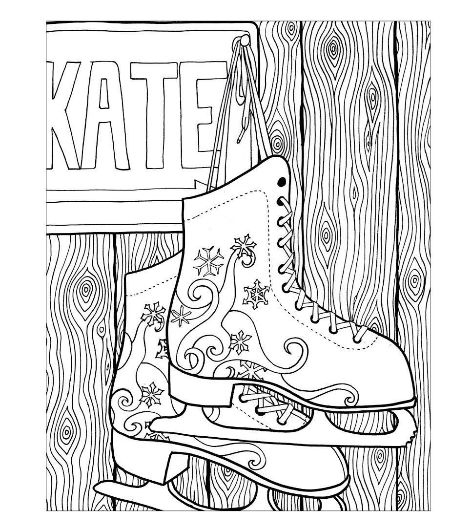Pin By Marischka Korepina On Novyj God Adult Coloring Pages Adult