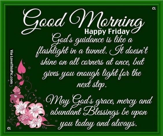 High Quality Good Morning, Happy Friday Design