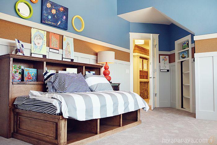 Best Corkboard Border Cool Way To Display Artwork And Pics Home Home Bedroom Kids Room Furniture 640 x 480