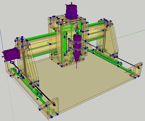 how to make cnc machine