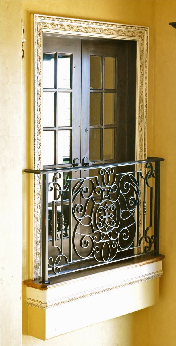 Balcony Window Grill Design: Top 15+ Modern Wrought Iron Doors For An Elegant Entry To