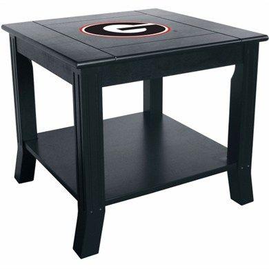 Georgia Bulldogs Table | Georgia Bulldogs Side Table | End Table | Furniture