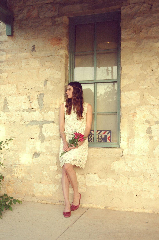 60s wedding dress  Vintage Mod Wedding Dress  s Cream Lace Mini by DalenaVintage