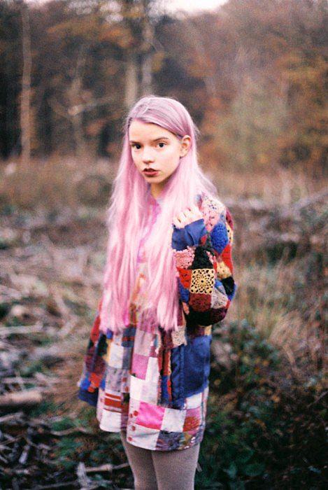 pink lon hair - I'm my hair