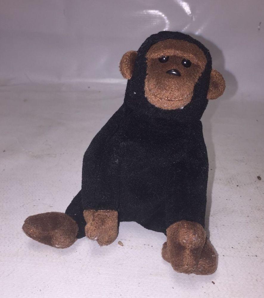 Dark Chimpanzee Plush