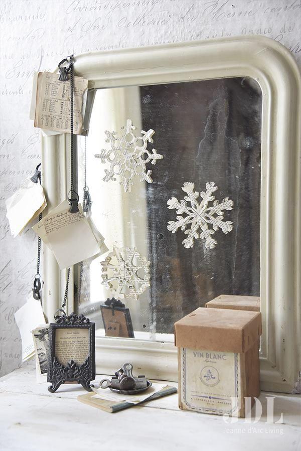Decorare casa per il Natale in stile shabby chic Shabby