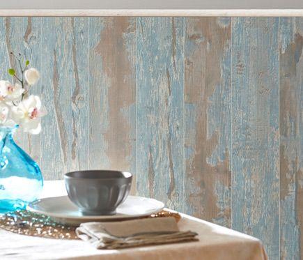 Revestimiento Para Pared De Pvc Cabane Azul Leroy Merlin - Revestimiento-de-pvc-para-paredes