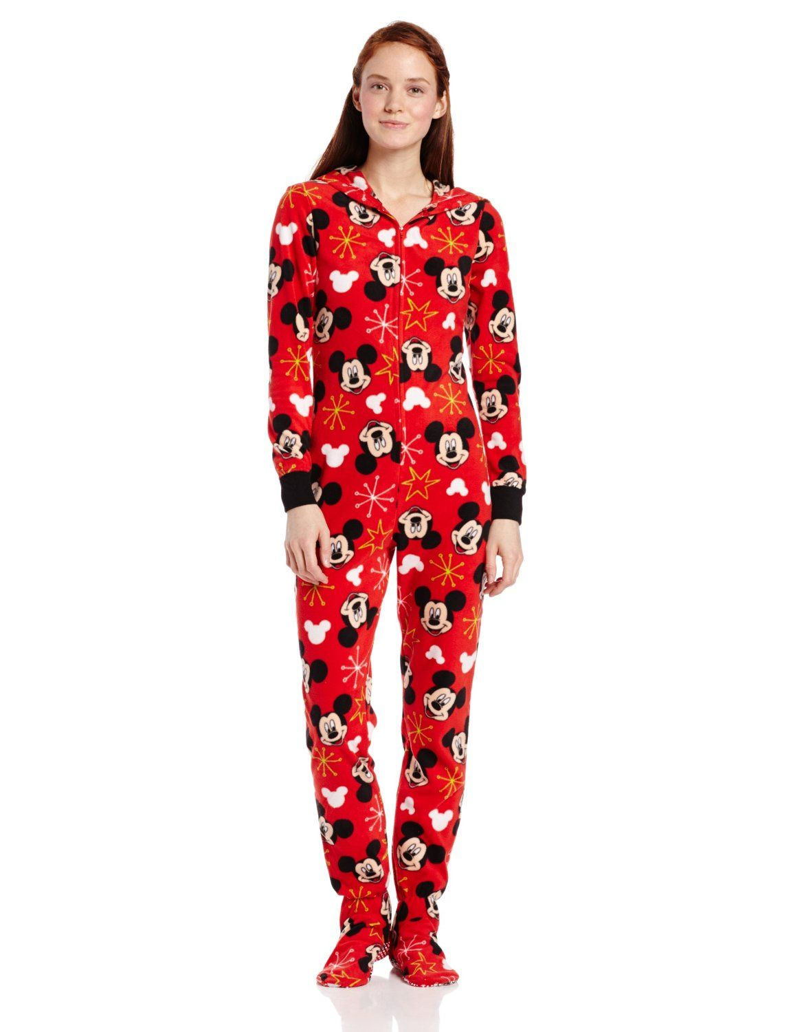 c7ccb3e6bd Disney Junior s Mickey Mouse Footed Onesie Pajama with Hood ( 20.06) http