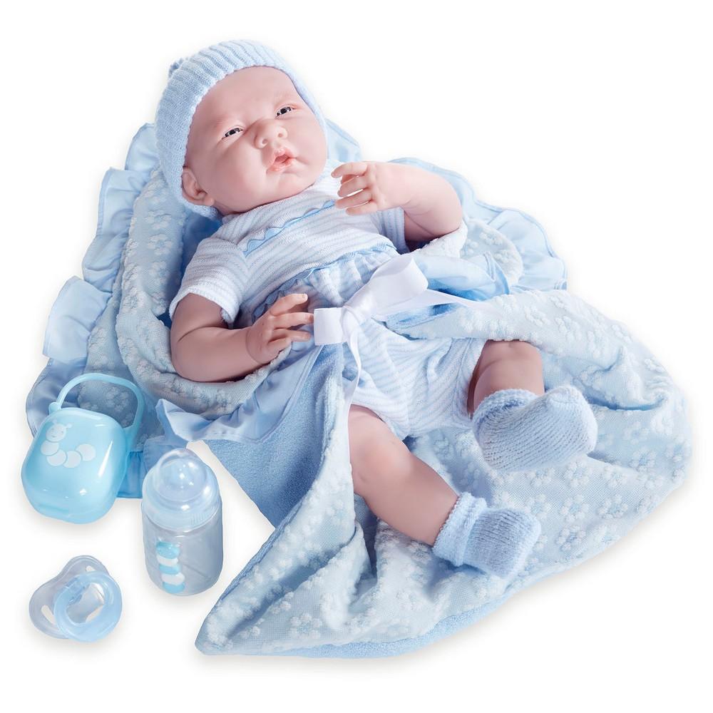 "Blue La Newborn 15.5/"" Gift Set Soft Body Doll"