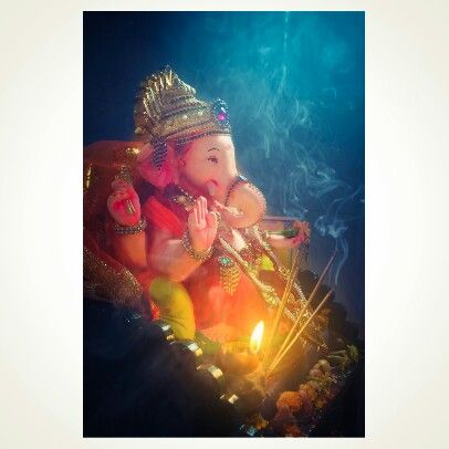 Peaceful ganesha