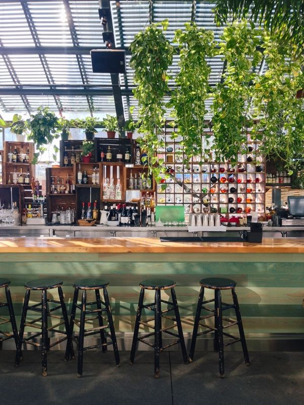 The Commissary For Brunch At The Line Hotel Los Angeles California