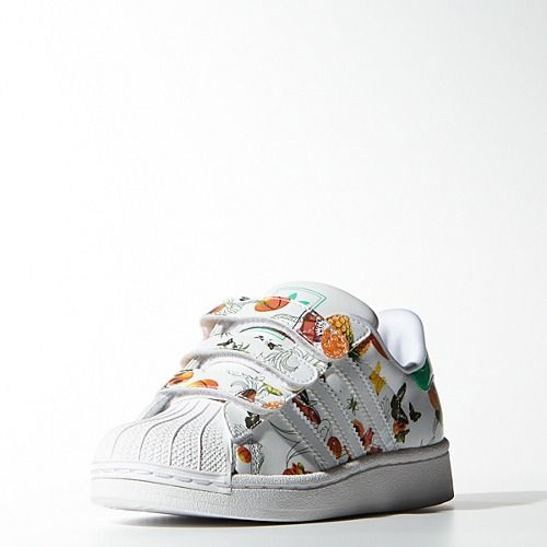adidas superstar kids floral