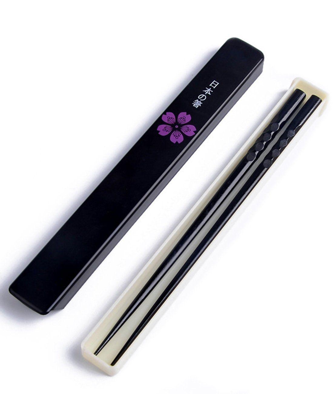 Japanese Lucky Cat MANEKI NEKO HASHI Good Luck Chopsticks 9inch 1Pair