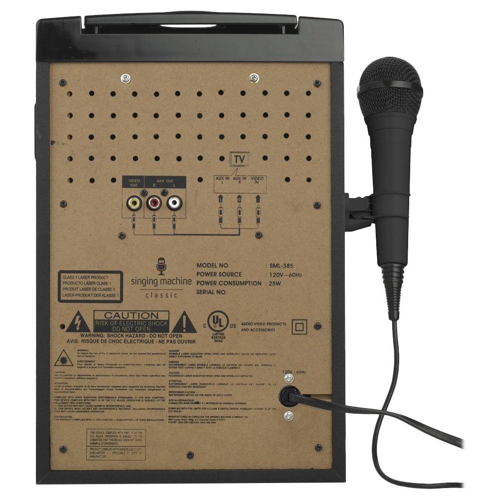 Singing Machine - CD+G Bluetooth Karaoke System - Black #karaokesystem