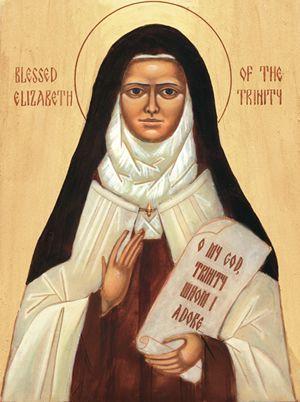Bl. Elizabeth of the Trinity (OCD), Virgin (m)   THE OFFICIAL WEBSITE OF THE CARMELITE ORDER  November 8
