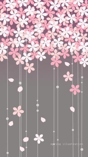 イラスト壁紙 桜 花 イラスト 桜の壁紙 桜 イラスト 和風