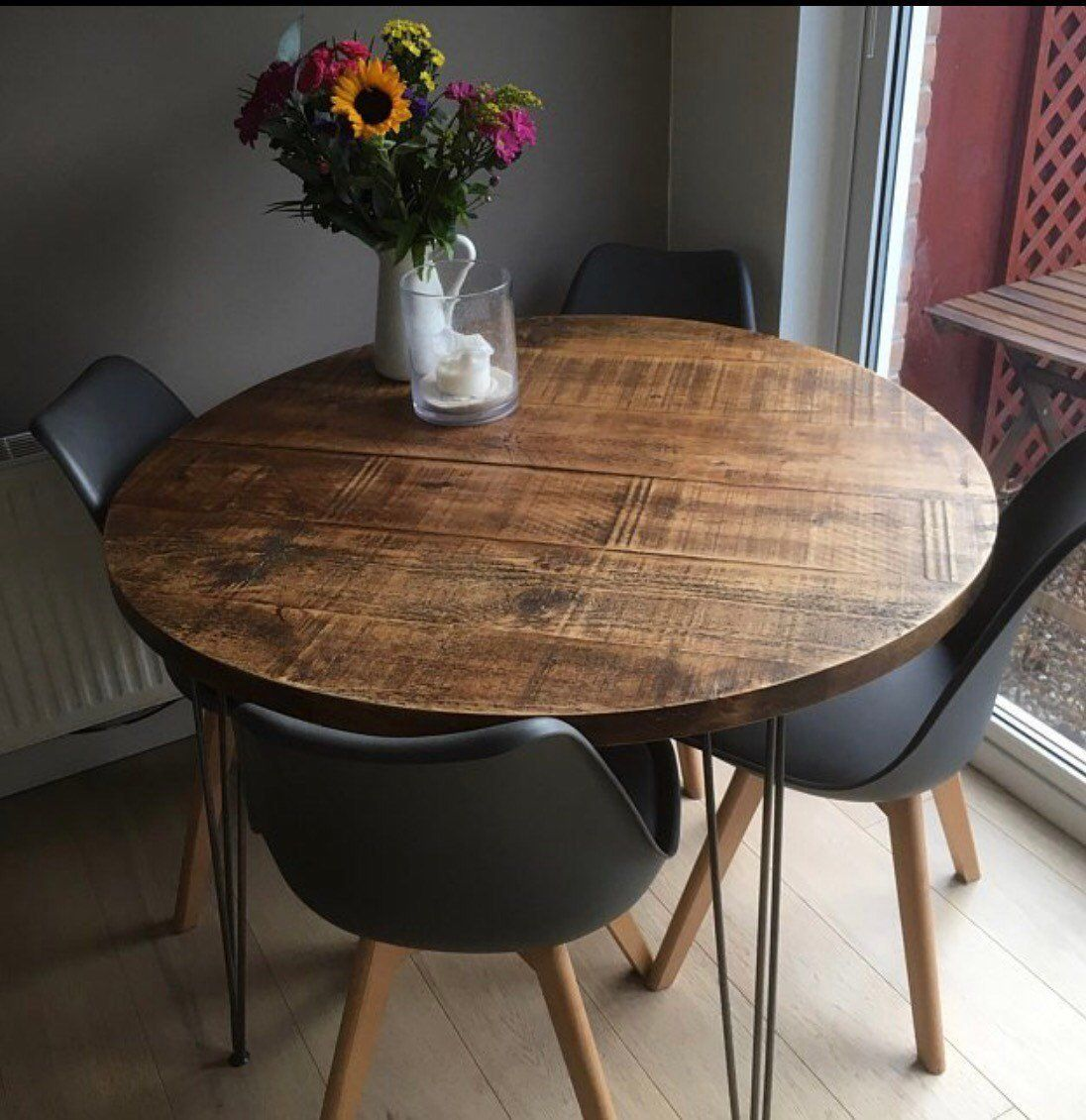 44+ Small round dining table wood Best