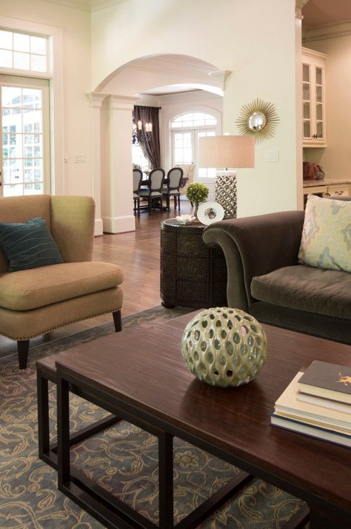 Mabry Place Transitional Living Room. Home Designed By Atlanta Interior  Design Firm, VRA Interiors
