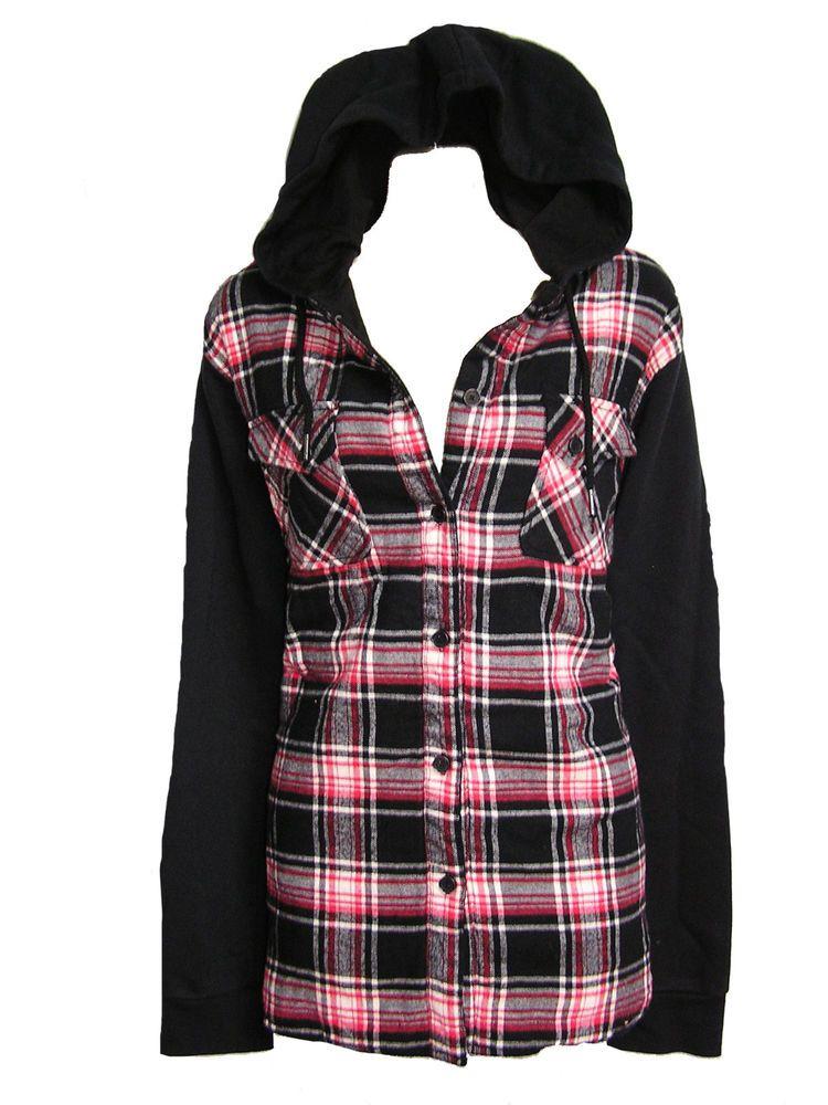 Flannel womens jacket