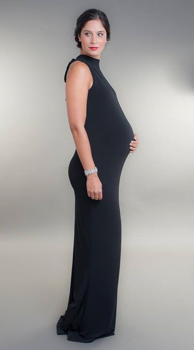 Black Tie Maternity Maxi Gown Perfect For Occasion Wear Www Broodymaternitywear Con