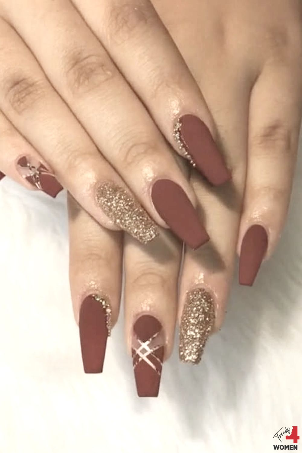 Acrylic Nail Designs With Rhinestones Trends For Women