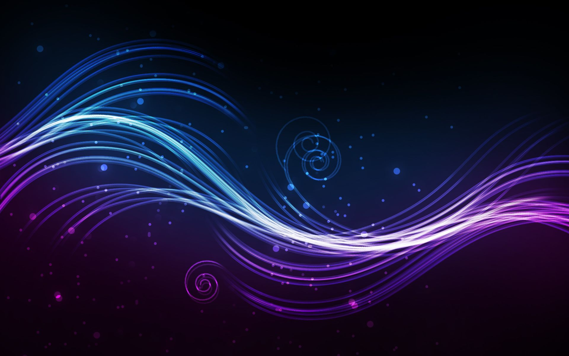 Purple Blue Abstract Black High Definition Hd Wallpapers