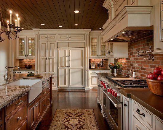 Sonho Kitchen Ideas In 2019 Exposed Brick Kitchen Kitchen