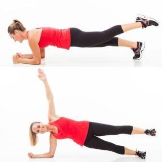 Quick Exercise: Rotating Single Leg Plank - Shape Magazine (With ...