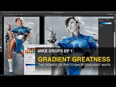 Mikedrops Ep 1 The Power Of Photoshop Gradient Maps Youtube