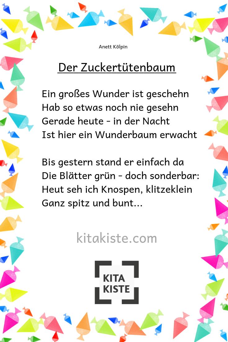 Vorschul Gedicht Fur Den Kindergarten Fur Das Sommerfest Oder Ein Zuckertutenfest Daas Ganze Gedicht Findest Du I Vorschul Gedichte Vorschule Kinder Lied