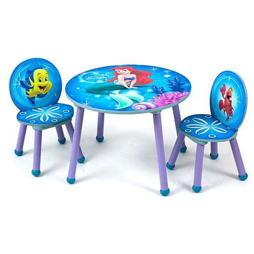 Reviews for Delta Disney The Little Mermaid Table and Chair Set ...