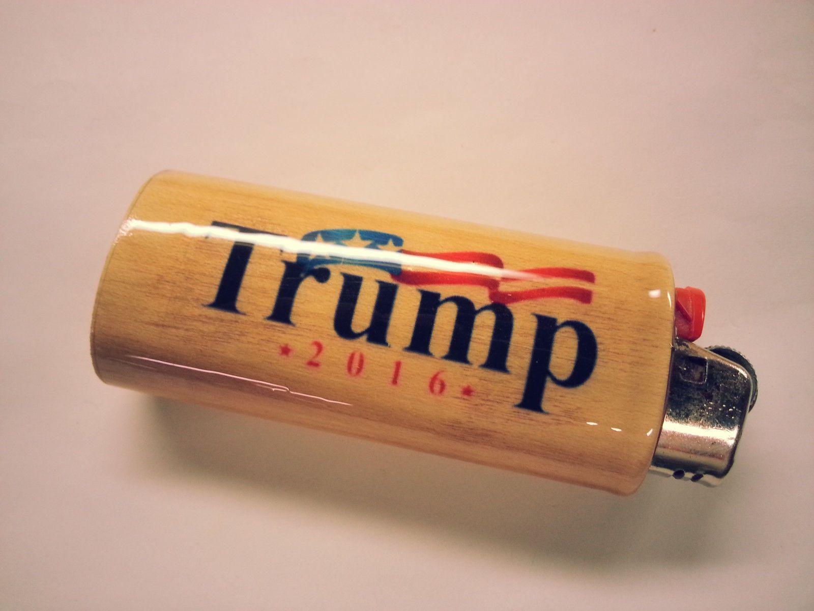 $9 99 - Donald Trump Bic Lighter Case Holder Sleeve Cover
